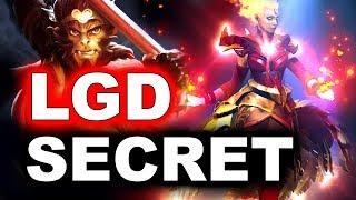 SECRET vs PSG.LGD - WHAT A GAME! - PVP ESPORTS DOTA 2