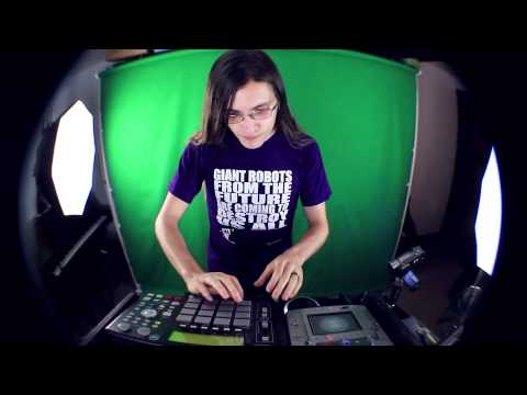 Live Dubstep Electro MPC/Kaoss Pad/CDJ Remix: Skyline