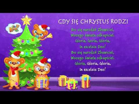 Polskie Kolędy - Gdy Się Chrystus Rodzi + Tekst (karaoke)