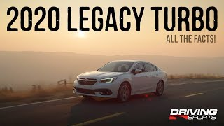 2020 Subaru Legacy Turbo - All The Official Details!