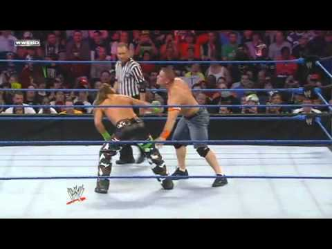 Wwe:john Cena Vs Degeneration X(shawn Michaels And Hhh) For Wwe Championship-hd-part 1. video