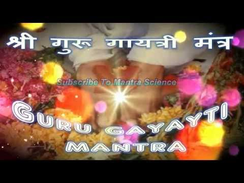 Shree Guru Gayatri Mantra - Narayan Dutt Shrimali Ji video