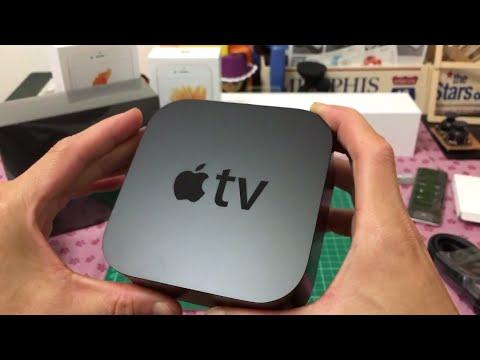 阿婆電視台灣國語開箱 Apple TV 4 Open Box in Taiwan