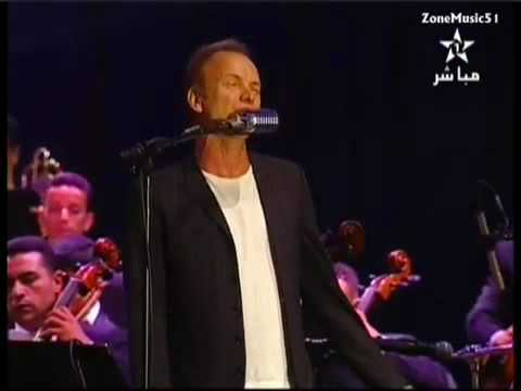 Sting - Live from Morocco - Whenever I say your name - Mawazine 2010
