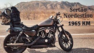 1965 km de moto pelo Sertão Nordestino - Harley Davidson Iron 883