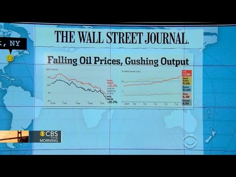 Headlines at 7:30: U.S. crude oil prices fall 20 percent