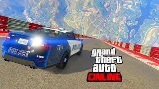 MEGA RAMP POLICE - GTA 5 ONLINE