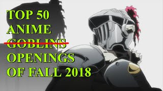 My Top 50 Anime Openings of Fall 2018