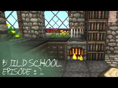 Minecraft Tutorials :: Build School :: Episode 2 :: Interior Design