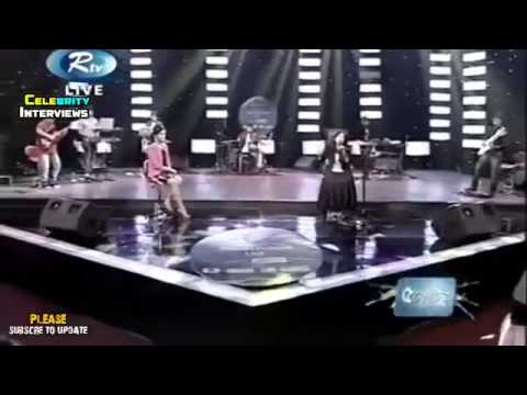 Monali Thakur Live Musical Concert in Bangladesh 2015 with Nusraat Faria PART 1 {ON air rtv}