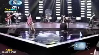 Monali Thakur Live Musical Concert in Bangladesh 2015 with Nusraat Faria PART 1 {ON air rtv}