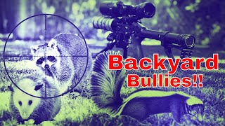 Backyard Bullies - Sweet Revenge for my dog! Pest Control with the EDgun Leshiy and R5M