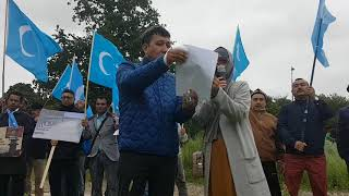 Uyghur Organizations demand from US to put pressure on China
