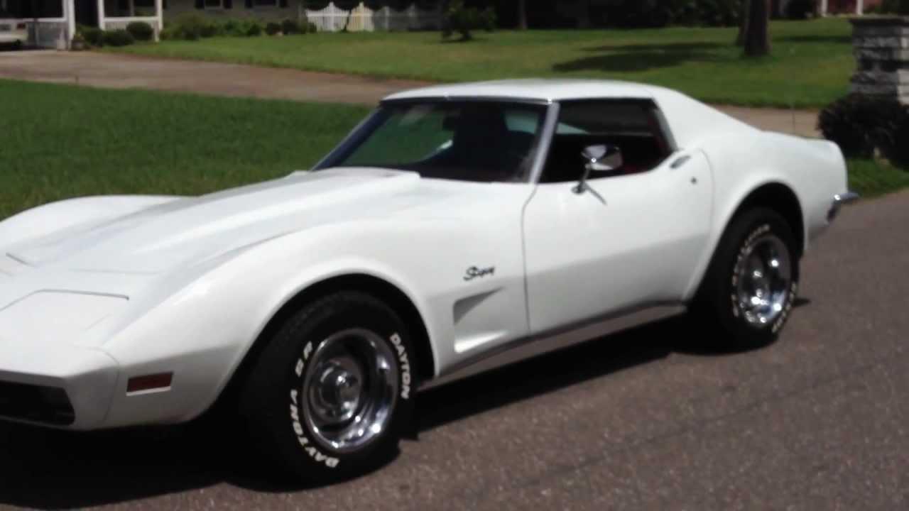 Stunning Classic 1973 Corvette Stingray T Top 350 V8 For