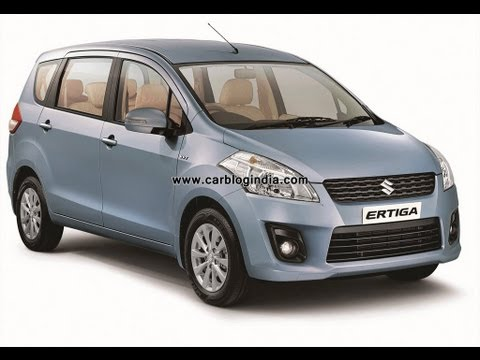 Maruti Ertiga LUV 2012 Walk Around Exteriors and Interiors Features Review