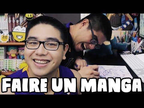 COMMENT FAIRE UN MANGA ! - LE RIRE JAUNE thumbnail