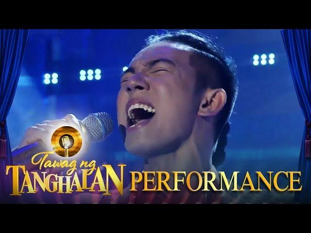 Tawag ng Tanghalan: John Michael Dela Cerna | My Way (Day 4 Semifinals)
