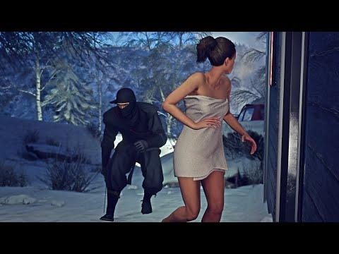 HITMAN Ninja Hokkaido Striker Massacre Kill Everyone Subscriber Request