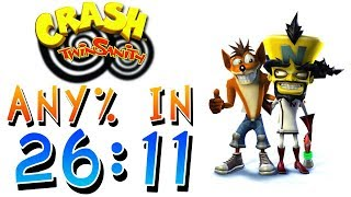 Crash Twinsanity Speedrun in 26:11