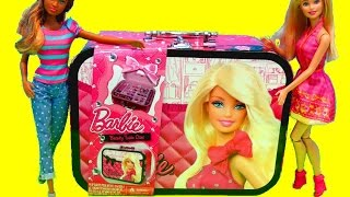 Barbie Beauty Train Case Makeup Bag - itsplaytime612