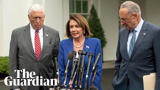 'A very serious meltdown' top Democrats react to Trump meeting