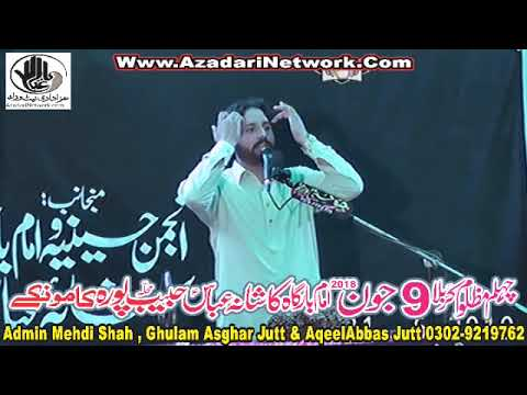 Zakir Fakhar Abbas Alvi 9 June 2018 Habib Pura Kamoke