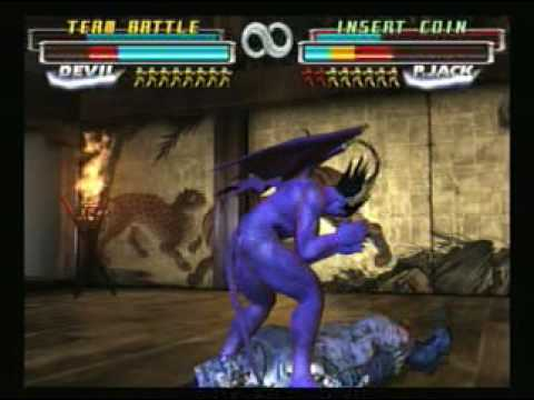 Transmorph playing Tekken Tag - Battle Mode