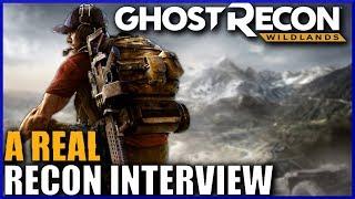 A REAL Recon Soldier Talks GHOST RECON WILDLANDS