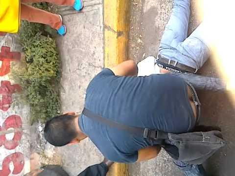 Asaltante golpeado en xochimilco
