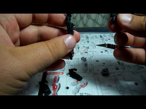 Let's Build Real Grade Gundam pt02