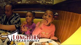 LONGHORN STEAKHOUSE FOOD REVIEW