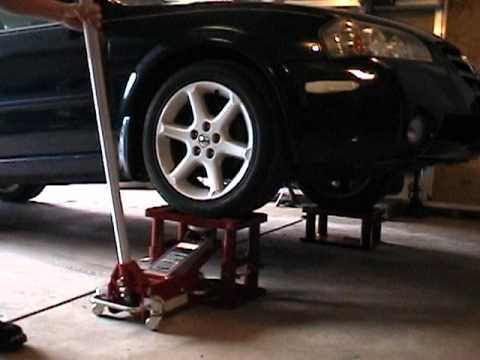My Lift Stand - Great idea for lifting a car