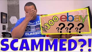 WAS I SCAMMED?! - $300 eBay Mystery Box