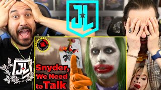 Snyder Cut | Film Theory: DEAR DC, I FIXED YOUR UNIVERSE! (JUSTICE LEAGUE) - REACTION!!
