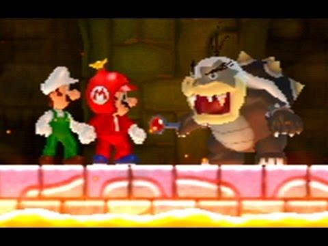 New Super Mario Bros. Wii Co-op Walkthrough - World 6 (All Star Coins)