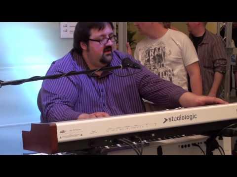 Joey DeFrancesco With Studiologic Numa Organ and Electric Numa Piano, Byron Landham at Drums