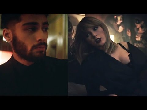 "Twitter EXPLODES Over Zayn & Taylor Swift's ""I Don't Wanna Live Forever"" Music Vid & BTS Footage"