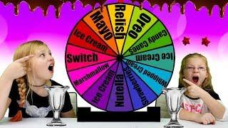 Mystery Wheel Of Ice Cream Sundae Switch Up Challenge!!!