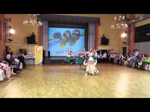 "Танец живота.в ластах. Конкурс ""Петербург танцует соушл"" 22.02.2015"
