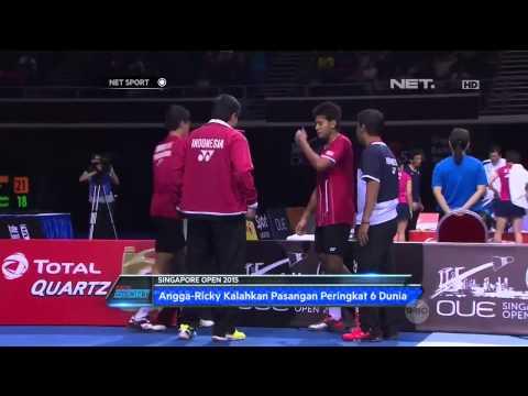 NET Sport - Indonesia Loloskan 1 Wakilnya ke Final Singapore Open 2015