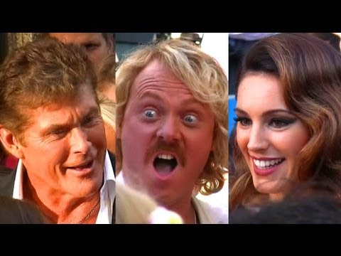 Odeon West End - Keith Lemon Movie Premiere - Kelly Brook, David Hasselhoff, Jedward, Paloma Faith