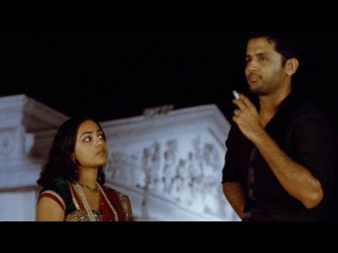 Ishq Movie || Hilarious Comedy Between Nithin & Nithya Menon || Nitin, Nithya Menen video