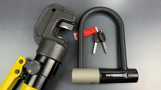 [785] Hydraulic Cutter vs. Kryptonite TKO Bicycle U-Lock