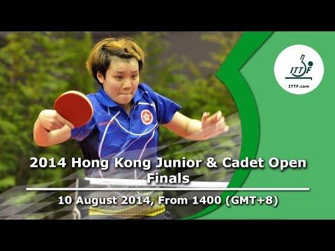 ITTF 2014 Hong Kong Junior & Cadet Open - Finals