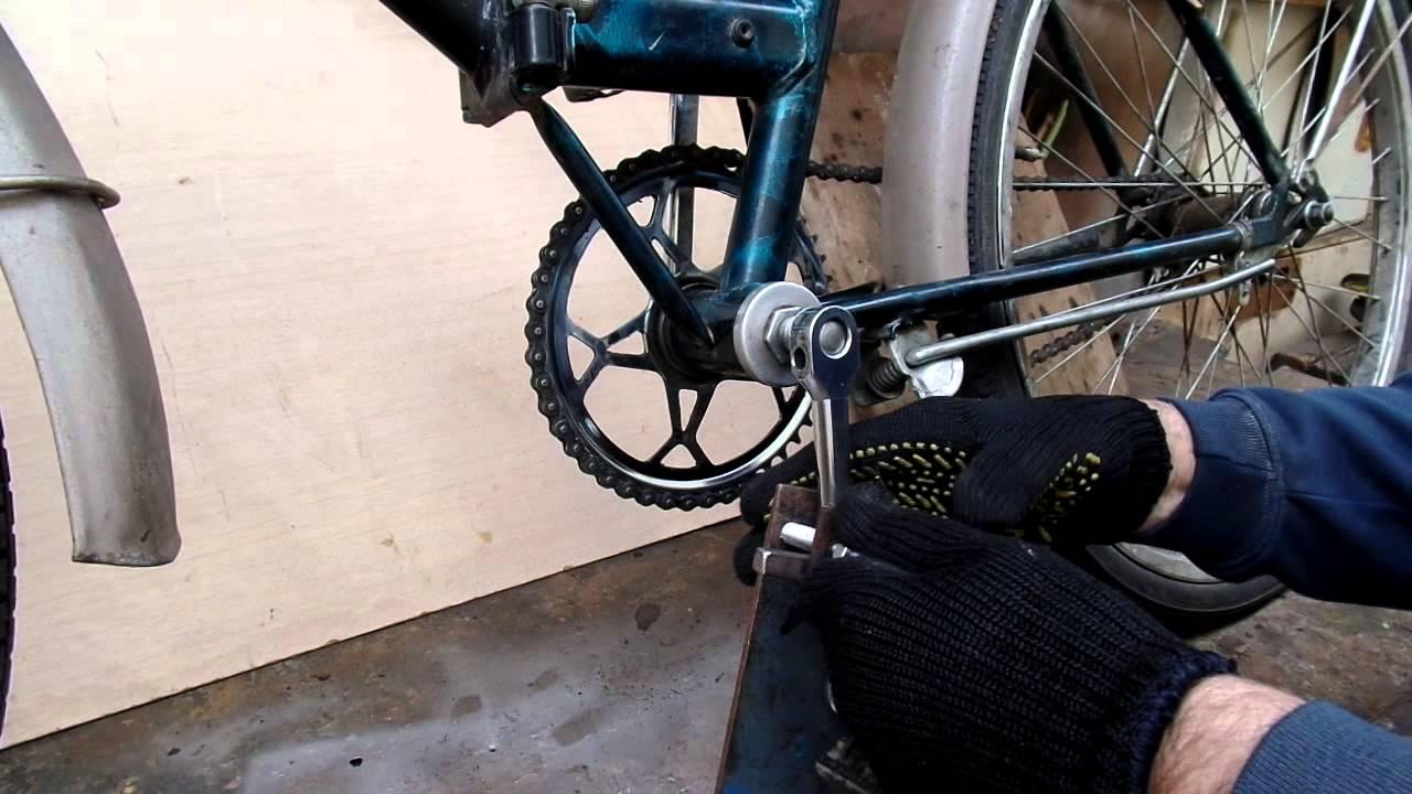 Ремонт велосипеда ссср своими руками 228