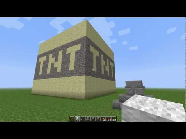 minecraft большой TNT