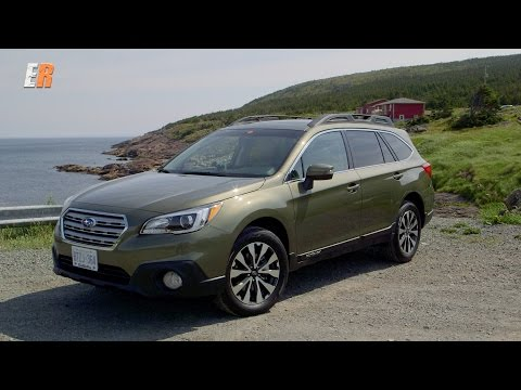 NEW 2015 Subaru Outback Test Drive Review -  Newfoundland