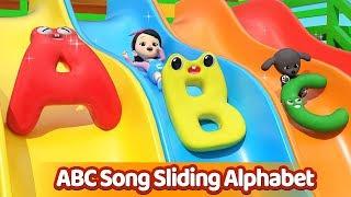 ABC Song | Sliding Alphabet | Kids Songs & Nursery Rhymes | Hello Carrie ABC