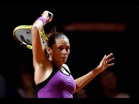 2016 Porsche Tennis Grand Prix Second Round | Roberta Vinci vs Julia Goerges | WTA Highlights