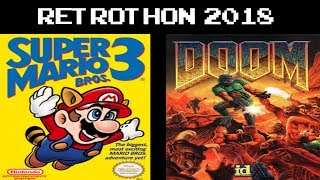 Retrothon 2018 - Super Mario Bros. 3 + Doom (!retrothon)